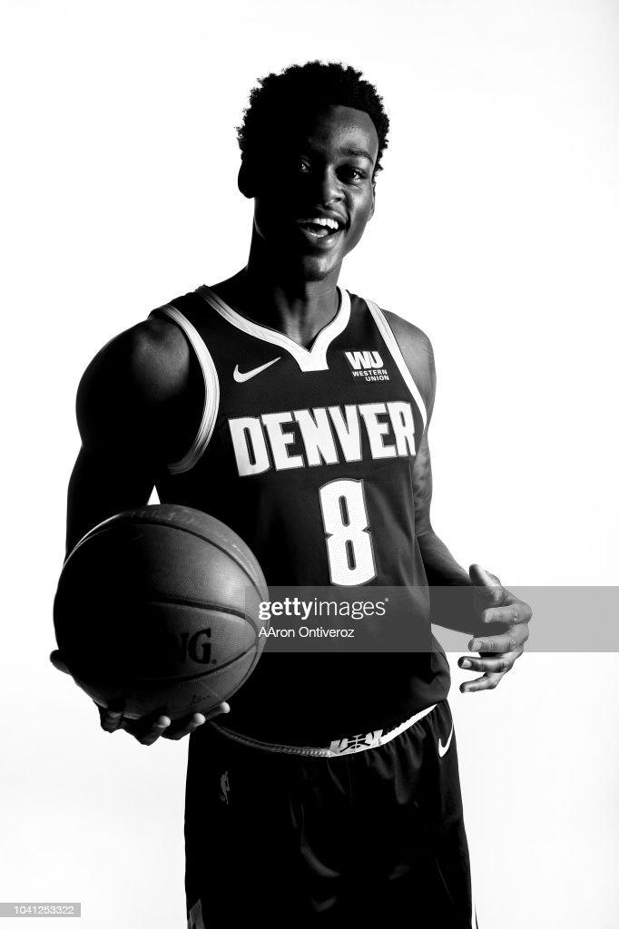 NBA, DENVER NUGGETS MEDIA DAY PORTRAITS 2018-19 : News Photo