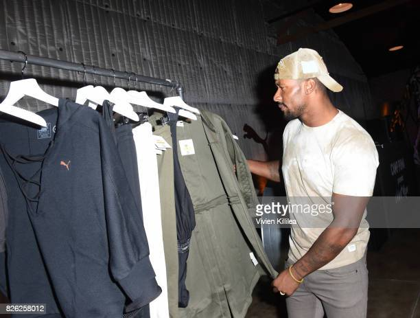 Jarret Janako attends PUMA Hosts CAMP PUMA To Launch Their Newest Women's Collection Velvet Rope at Goya Studios on August 3 2017 in Los Angeles...