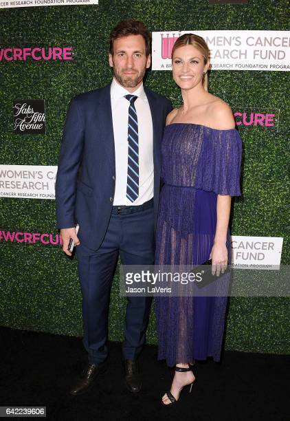 Jarret Stoll and Erin Andrews attend An Unforgettable Evening at the Beverly Wilshire Four Seasons Hotel on February 16 2017 in Beverly Hills...