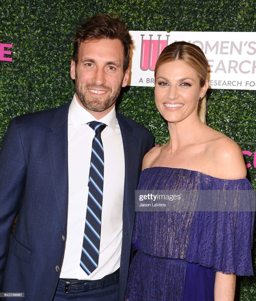 Jarret Stoll and Erin Andrews attend An Unforgettable Evening at the Beverly Wilshire Four Seasons Hotel on February 16, 2017 in Beverly Hills, California.