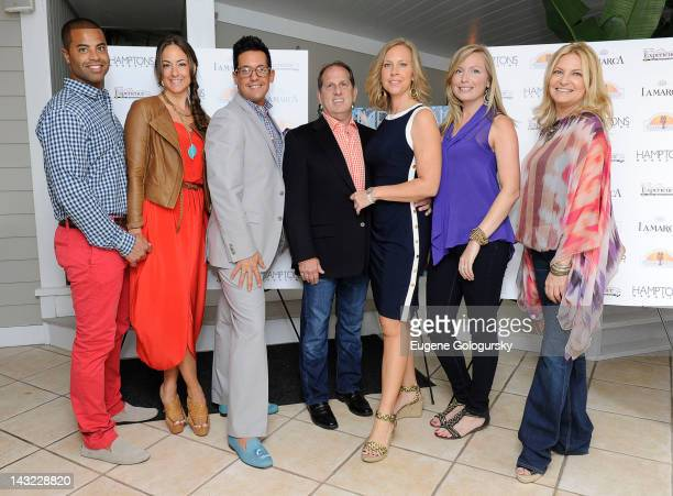 Jarret Willis Crystal Smith Sean Bruns Larry Huffman Missy Frey Laura Fisher and Debra Halpert attend Hamptons Magazine Celebrates The 2012 Season...