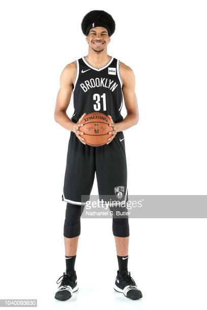 Jarrett Allen of the Brooklyn Nets poses for a portrait during Media Day on September 24 2018 at HSS Training Center in Brooklyn New York NOTE TO...