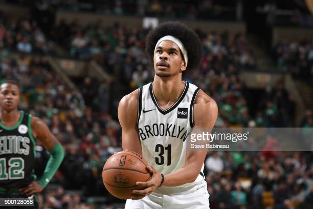 Jarrett Allen of the Brooklyn Nets shoots the ball against the Boston  Celtics on December 31. Orlando Magic ... 0167c7c00