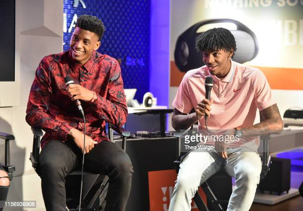 Jarrett Culver draftee and JBL panelist talks hoops with topprospect and JBL partner Ja Morant at JBL FullCourt Press an exclusive panel discussion...