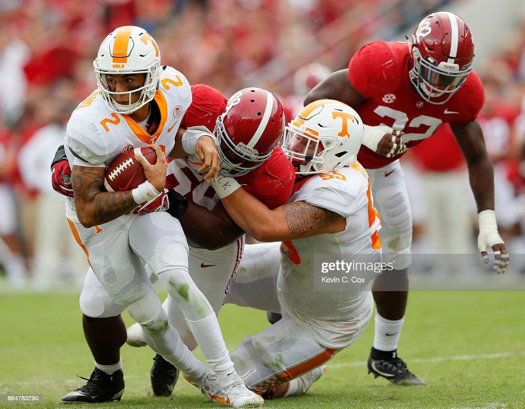 Tennessee v Alabama : News Photo