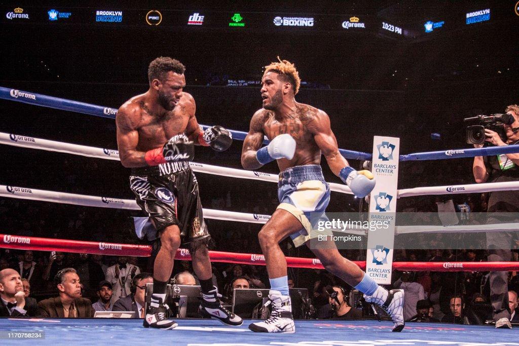 Bill Tompkins Austin Trout Jarret Hurd Boxing  Archive : ニュース写真