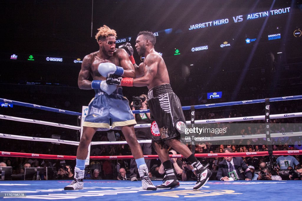 Bill Tompkins Austin Trout Jarret Hurd Boxing  Archive : Nieuwsfoto's
