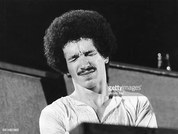 Jarrett, Keith *-Musiker, Pianist, Komponist, Jazz, USA- Portrait waehrend eines Konzerts in der Philharmonie in Berlin