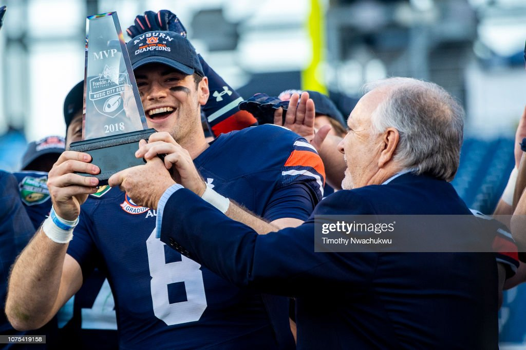 Franklin American Mortgage Music City Bowl - Purdue v Auburn : News Photo