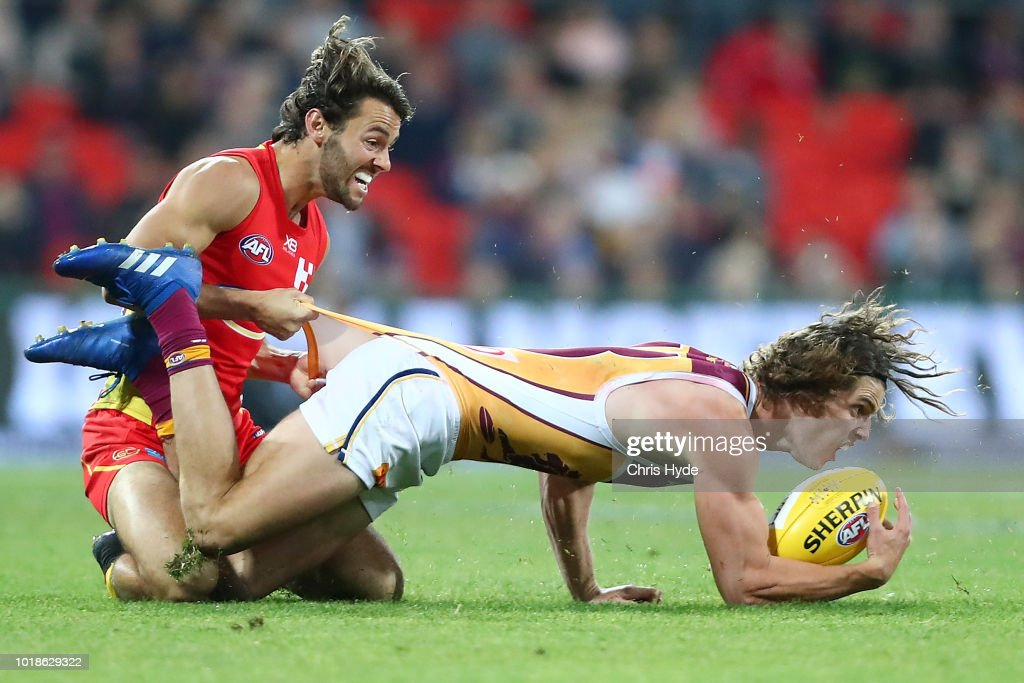 AFL Rd 22 - Gold Coast v Brisbane