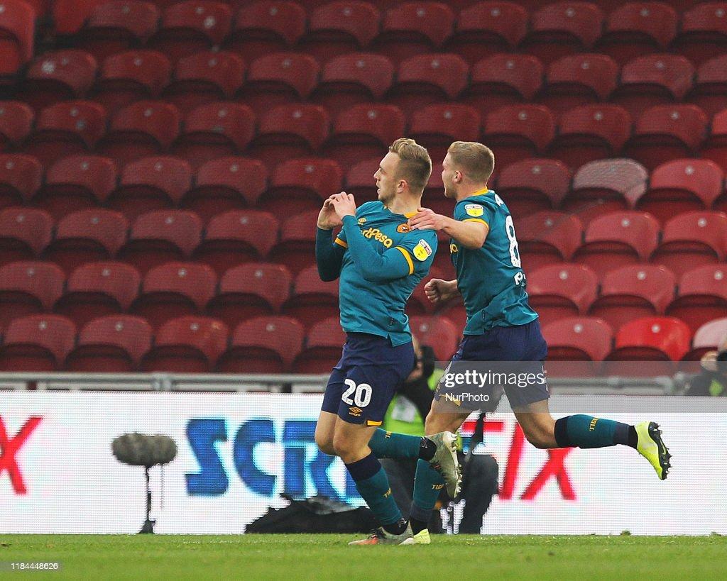 Middlesbrough v Hull City - Sky Bet Championship : Fotografía de noticias
