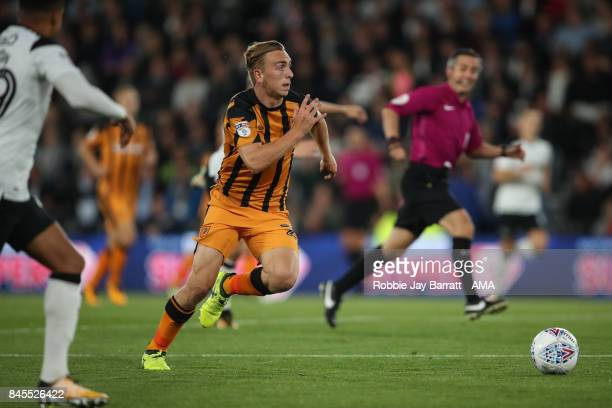 Jarrod Bowen of Hull City during the Sky Bet Championship match between Derby County and Hull City at iPro Stadium on September 8 2017 in Derby...
