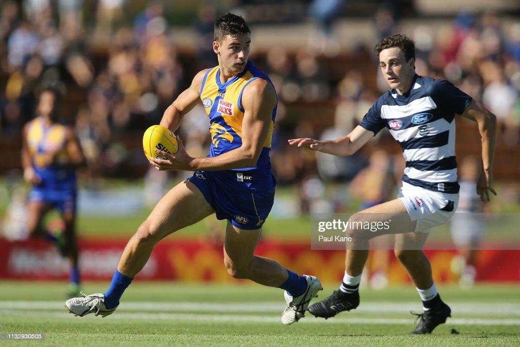 West Coast v Geelong - 2019 JLT Community Series : News Photo
