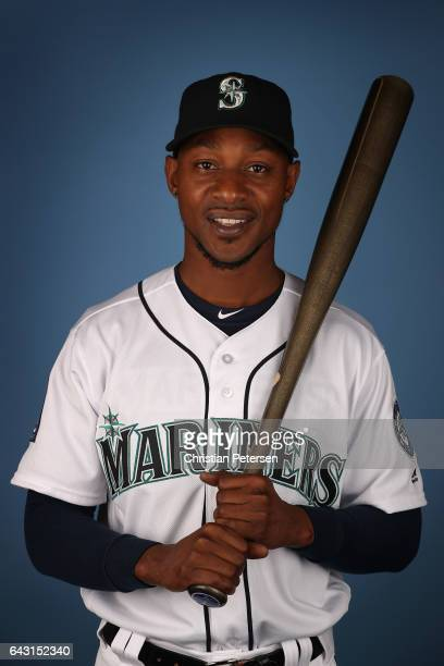 Jarrod Dyson of the Seattle Mariners poses for a portrait during photo day at Peoria Stadium on February 20 2017 in Peoria Arizona