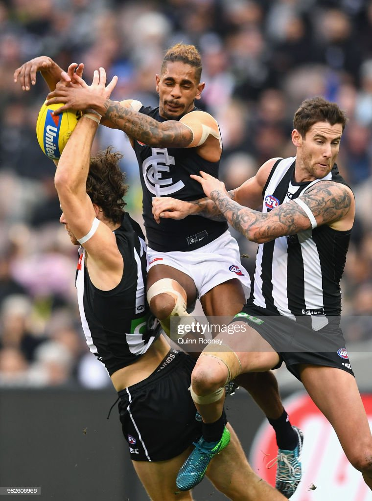 AFL Rd 14 - Collingwood v Carlton