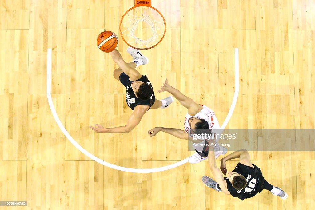 New Zealand v Syria - FIBA World Cup Qualifier : News Photo