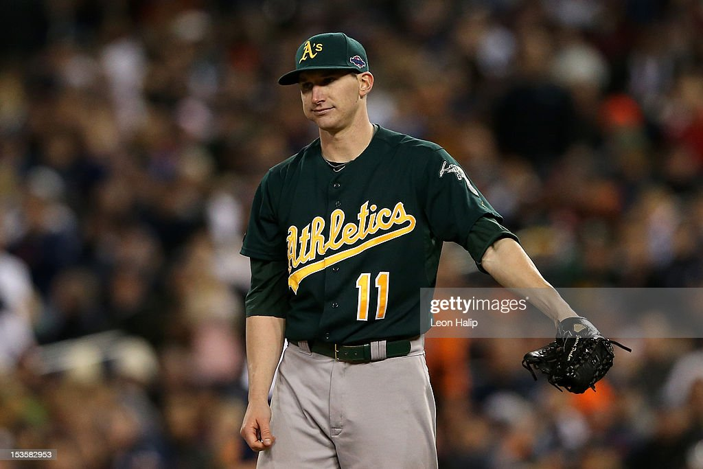 Division Series - Oakland Athletics v Detroit Tigers - Game One
