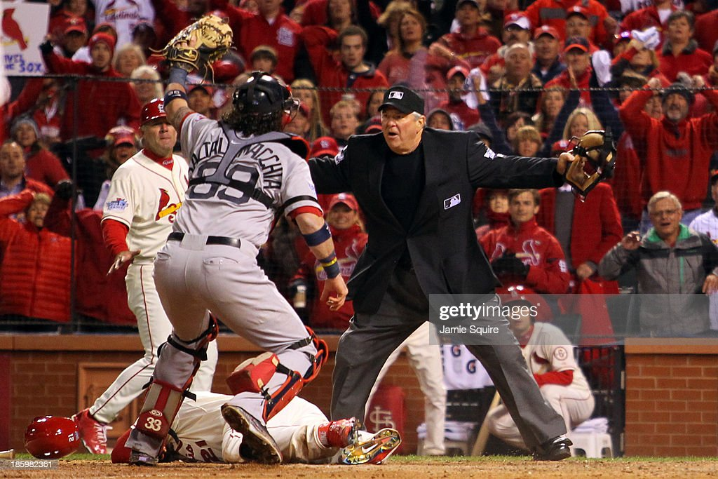 World Series - Boston Red Sox v St Louis Cardinals - Game Three