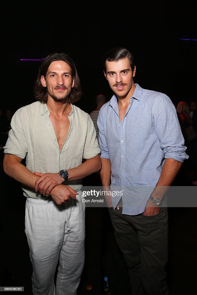 Jarrod Scott poses during the After Party following the David Jones Spring/Summer 2016 Fashion Launch at Fox Studios on August 3, 2016 in Sydney, Australia.