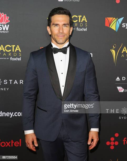 Jarrod Turner poses during the 7th AACTA Awards at The Star on December 6 2017 in Sydney Australia
