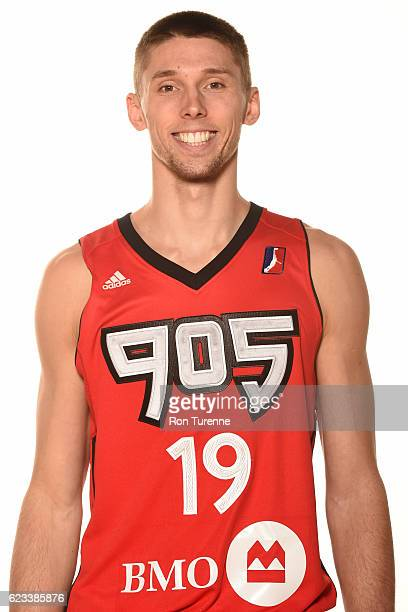 Jarrod Uthoff of the Raptors 905 poses for a head shot during the NBA DLeague Media Day at the Hershey Centre on November 11 2016 in Mississauga...