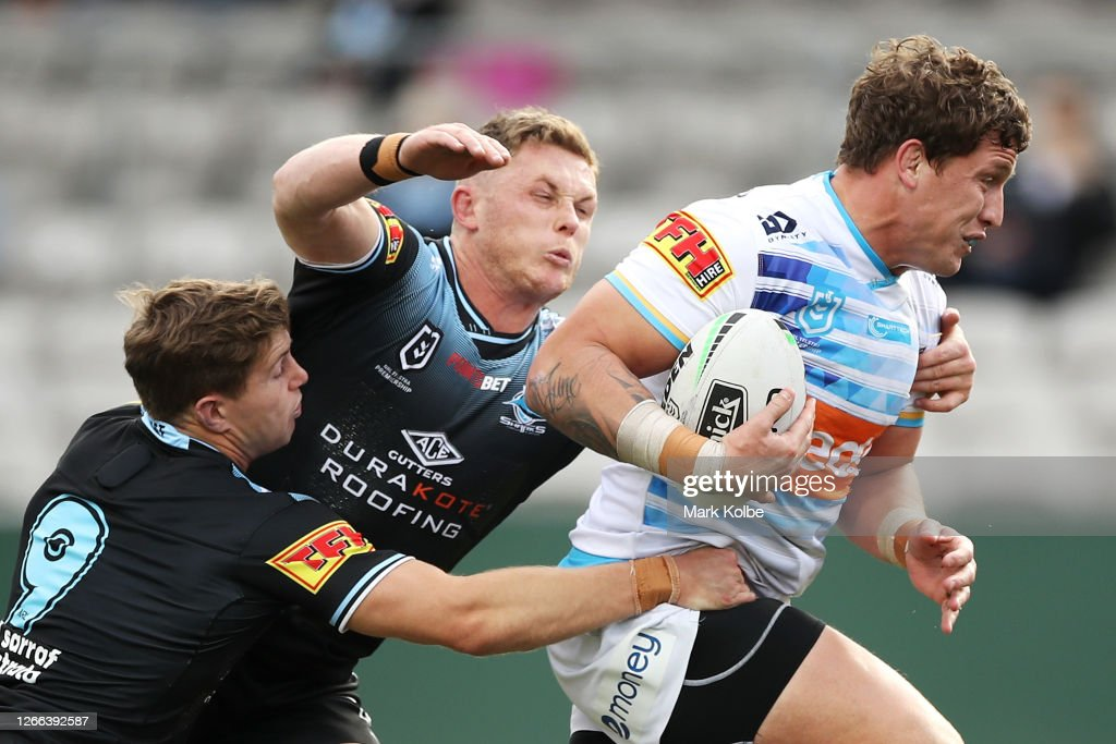 NRL Rd 14 - Sharks v Titans : News Photo