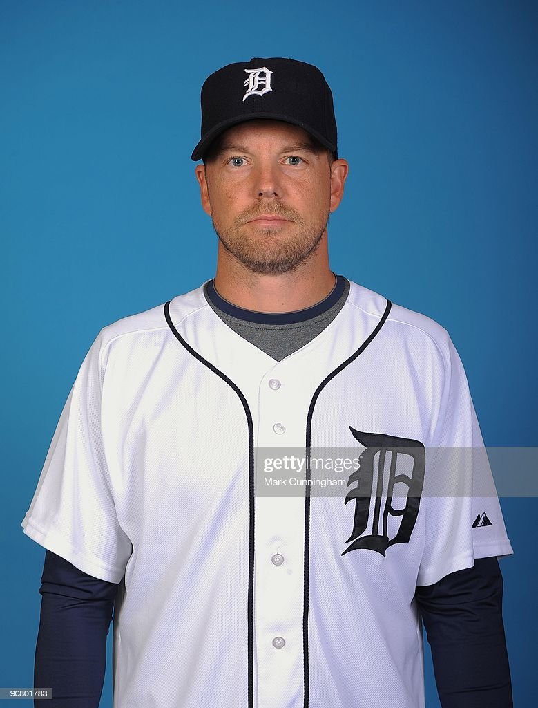 Jarrod Washburn #53 of the Detroit Tigers poses for a head shot at Comerica Park on September 12, 2009 in Detroit, Michigan.