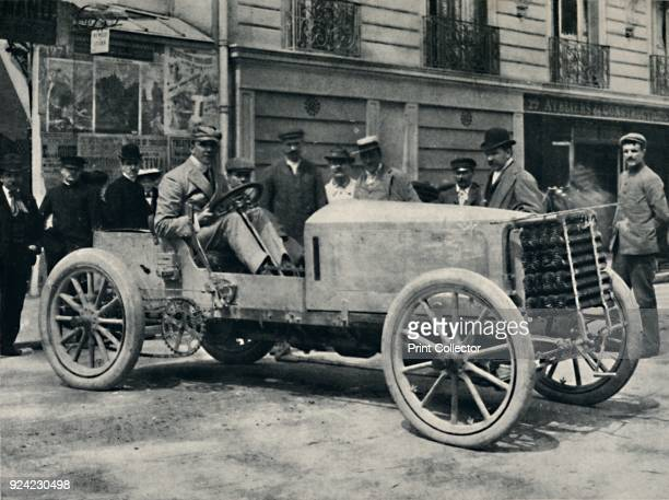 Jarrott before the beginning of the Race of Death' 1937 Charles Jarrott English racing car driver and businessman From Sir Malcolm Campbell's Book of...