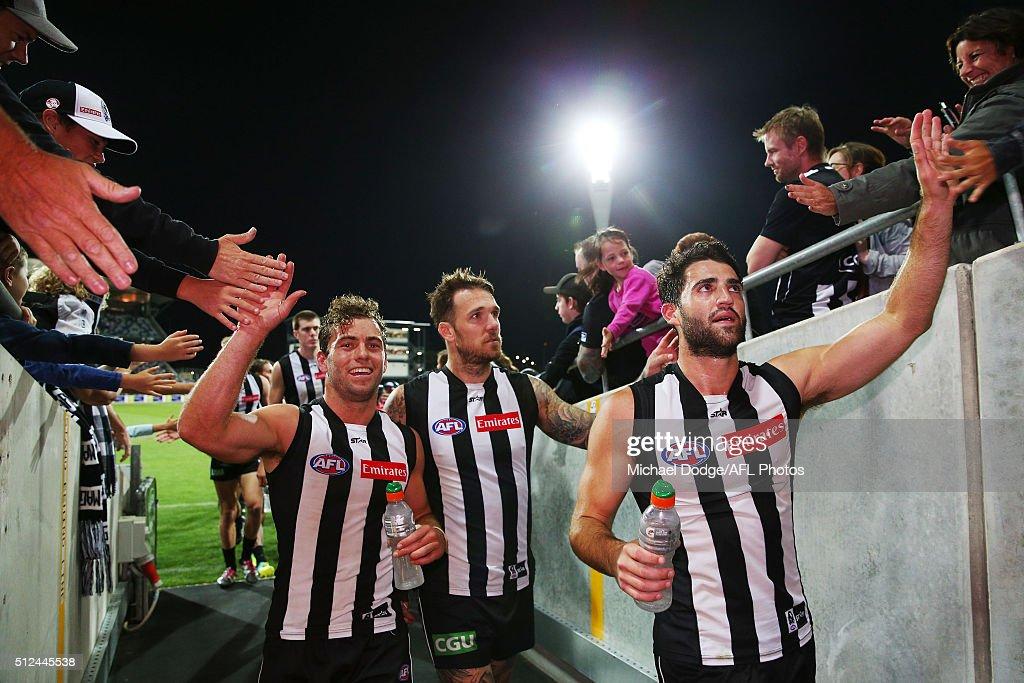 Geelong v Collingwood - 2016 AFL NAB Challenge