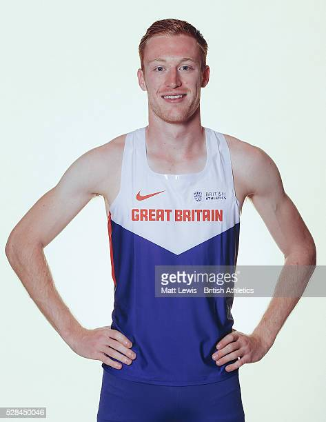 Jarryd Dunn of British Athletics poses for a portrait during a Training Session on August 17 2015 in Fukuoka Japan