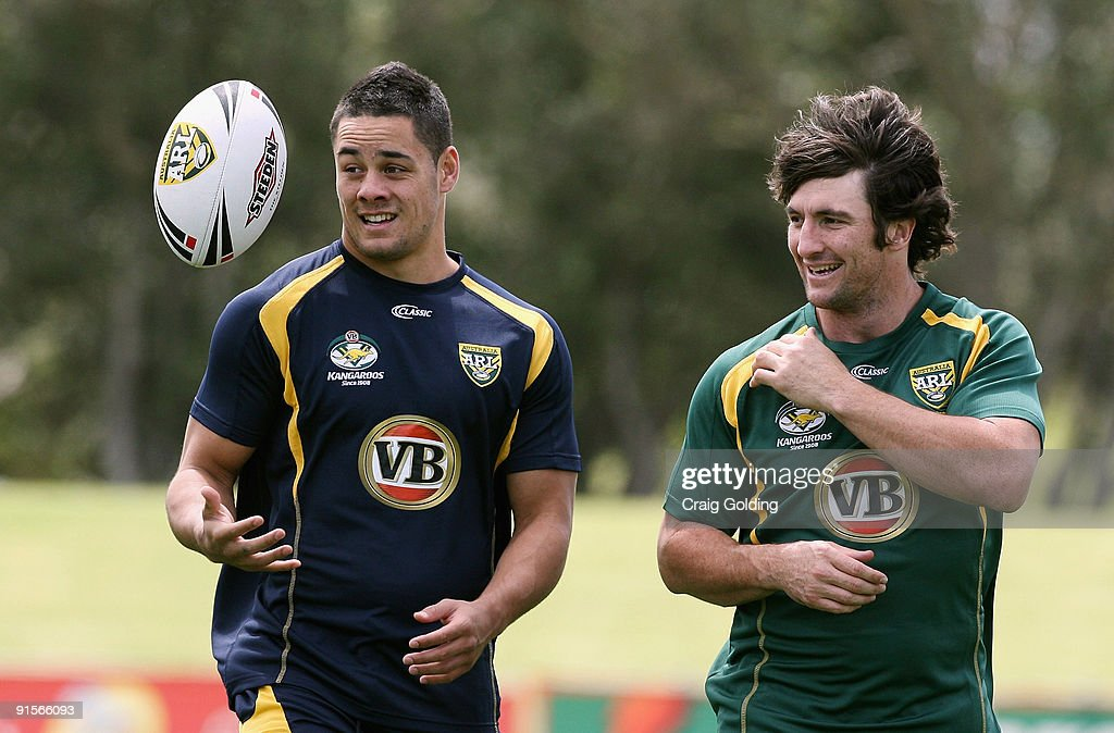 Kangaroos Training Session