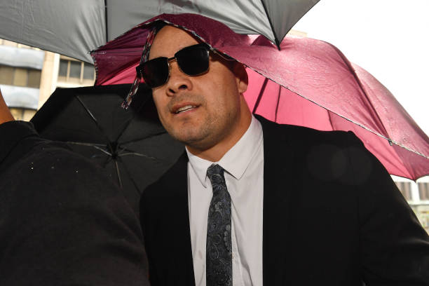 AUS: Jarryd Hayne Attends Court For Sentence Hearing Following Sexual Assault Conviction