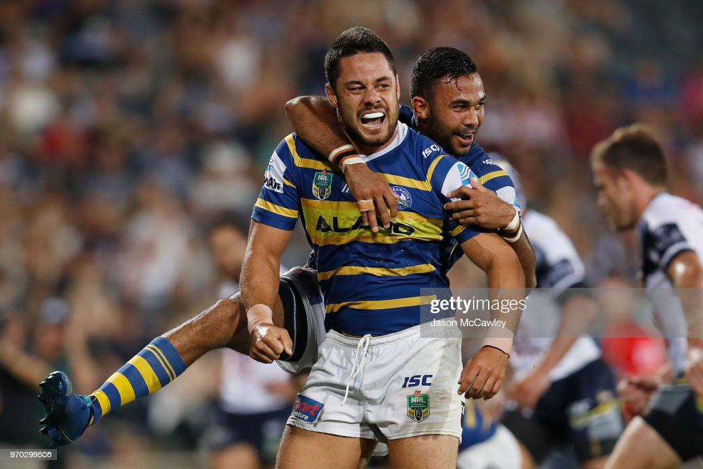 NRL Rd 14 - Eels v Cowboys : News Photo
