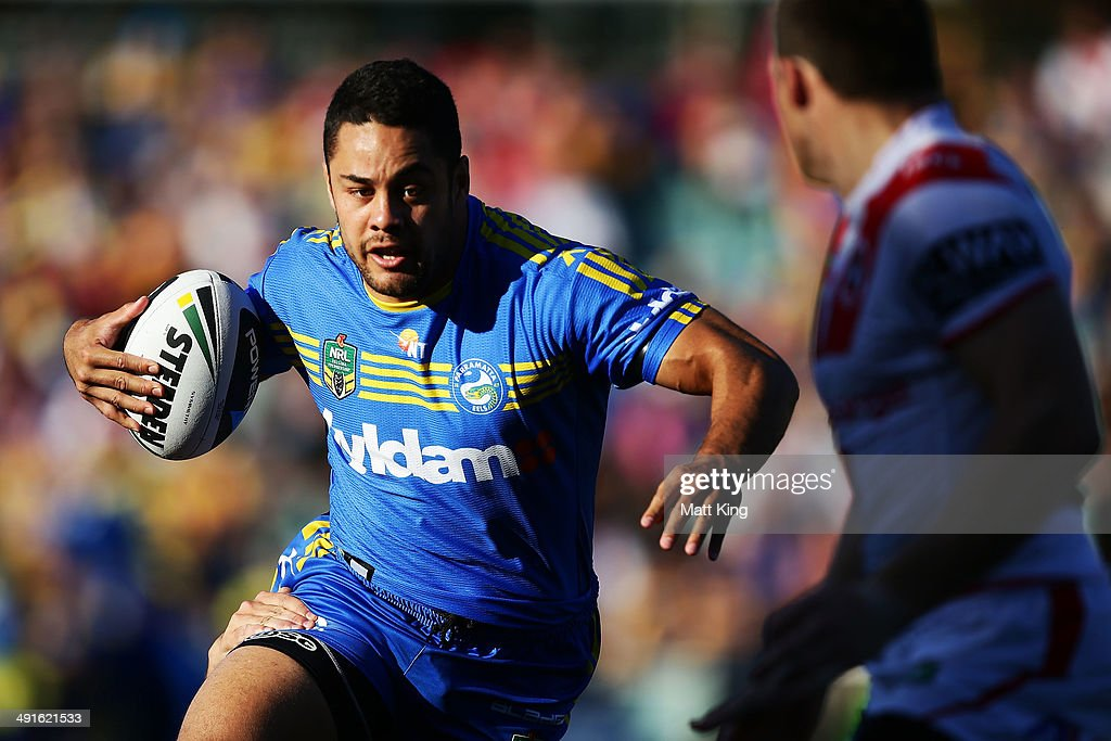 NRL Rd 10 - Eels v Dragons