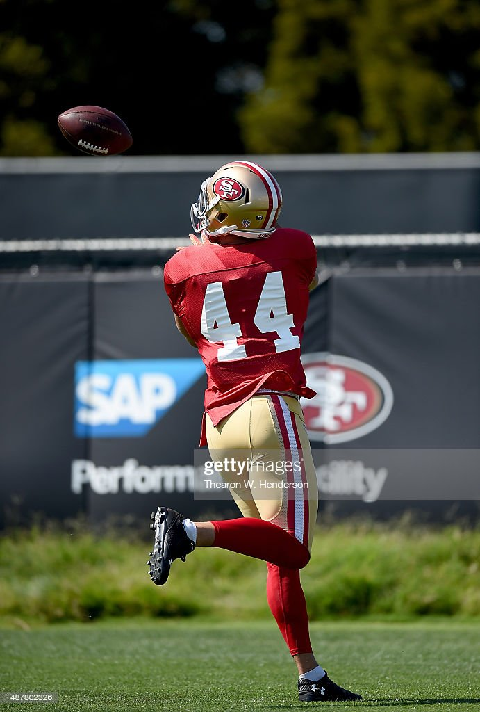 the best attitude d14ee 366e6 Jarryd Hayne of the San Francisco 49ers is wearing jersey ...