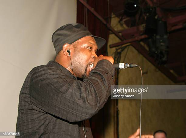 Jaru The Damager during Alchemist Album Realease Party and Concert September 22 2004 at SOB in New York City New York United States