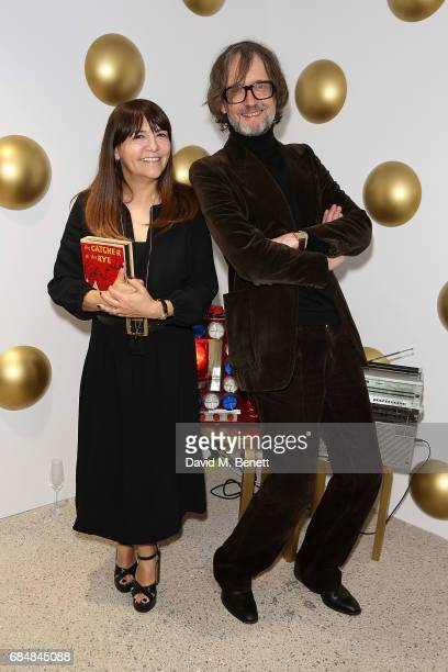 Jarvis Cocker and Jeannette Lee attends an open house hosted by Dover Street Market to celebrate Photo London on May 18 2017 in London England