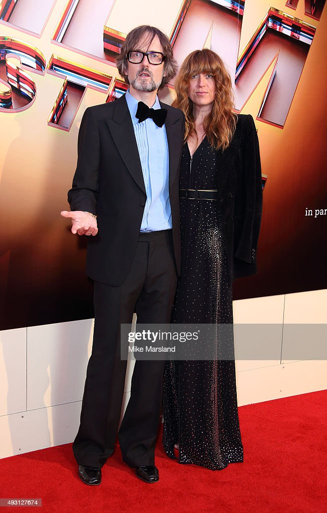 Jarvis Cocker and Kim Sion attends the BFI London Film Festival Awards at Banqueting House on October 17, 2015 in London, England.