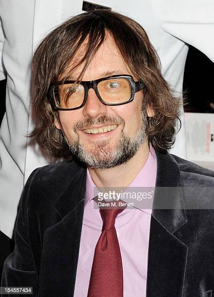 Jarvis Cocker arrives at The Q Awards 2012 at the Grosvenor House Hotel on October 22 2012 in London England