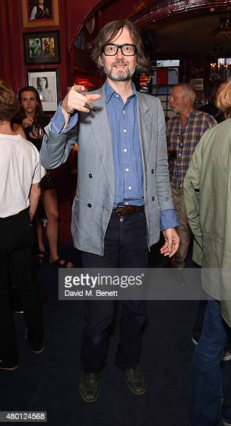 Jarvis Cocker attends the launch of the Marshall first edition eyewear collection for Harvey Nichols at The Union Private Members Club on July 9 2015...