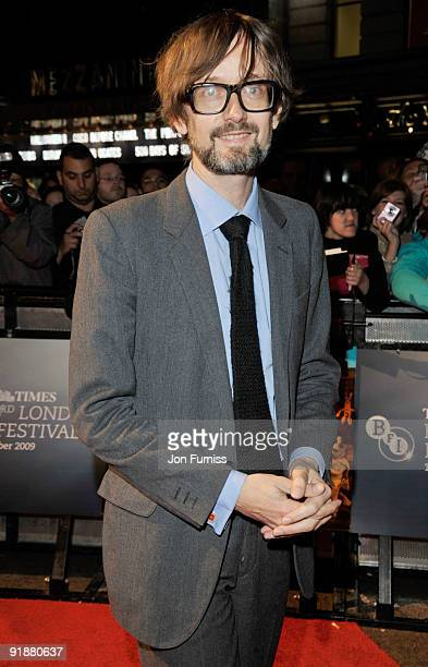 Jarvis Cocker attends the Opening Gala for The Times BFI London Film Festival which Premiere's 'Fantastic Mr Fox' at the Odeon Leicester Square on...