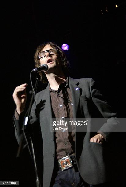 Jarvis Cocker introduces Roky Erickson of the legendary psychedelic group 13th Floor Elevators and his band The Explosives in his first ever UK show...