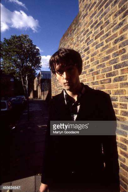Jarvis Cocker of Pulp portrait London United Kingdom 1992