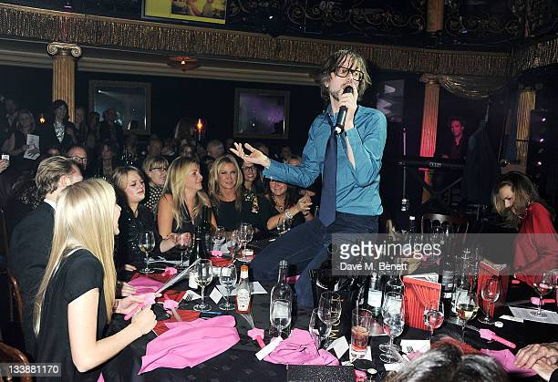 Jarvis Cocker performs at The Hoping Variety Show A Benefit Evening For Palestinian Refugee Children at Cafe de Paris on November 21 2011 in London...