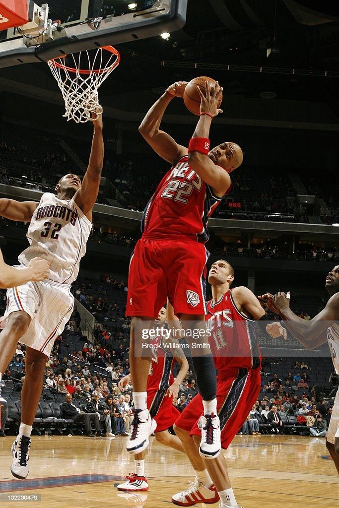New Jersey Nets v Charlotte Bobcats