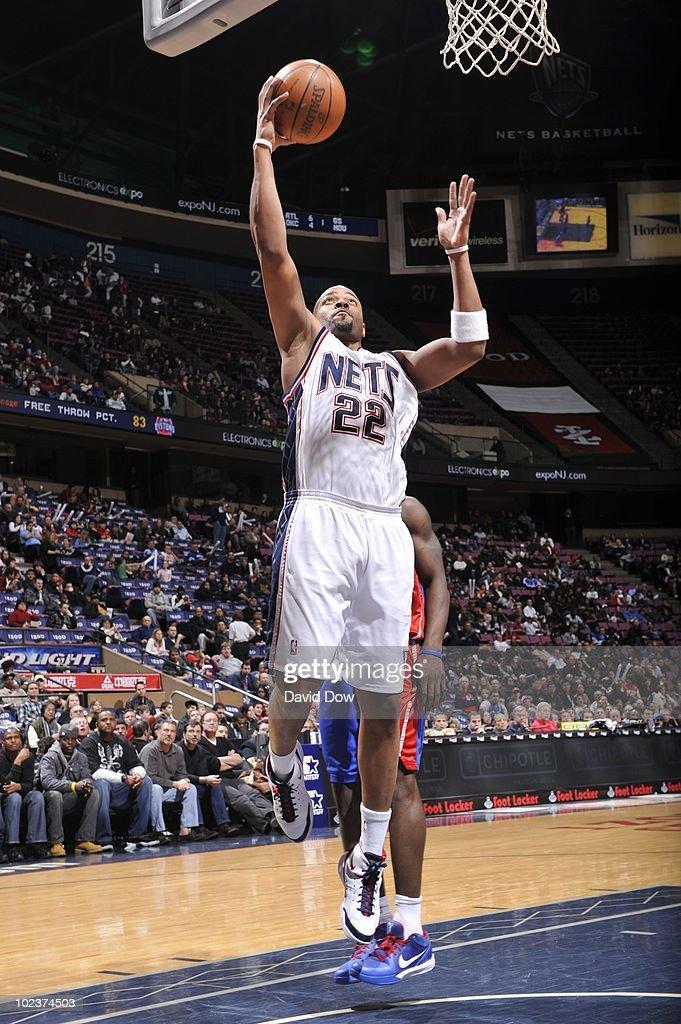 Detroit Pistons v New Jersey Nets