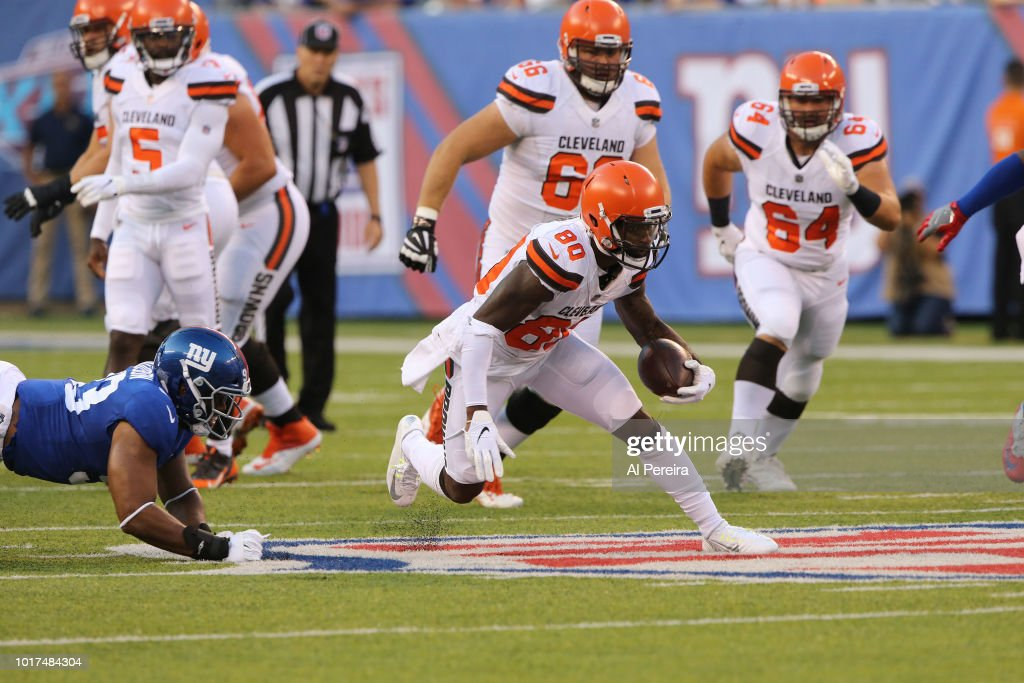 Cleveland Browns v New York Giants : News Photo
