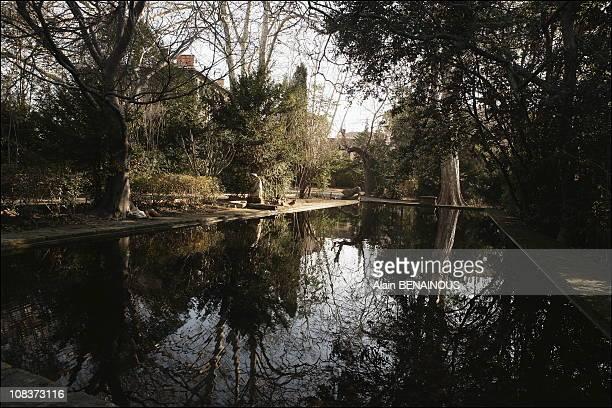 Jas De Bouffan Cezanne's family estate in AixenProvencein AixenProvence France on January 12 2006