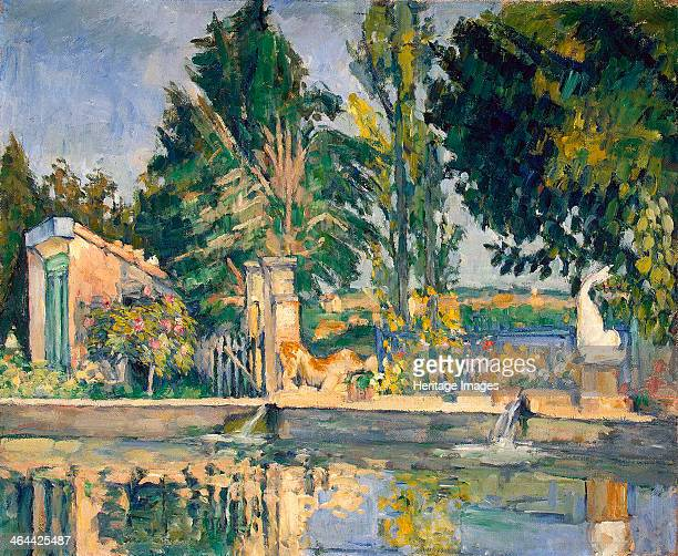 'Jas de Bouffan the Pool' c1876 Cézanne Paul Found in the collection of the State Hermitage St Petersburg