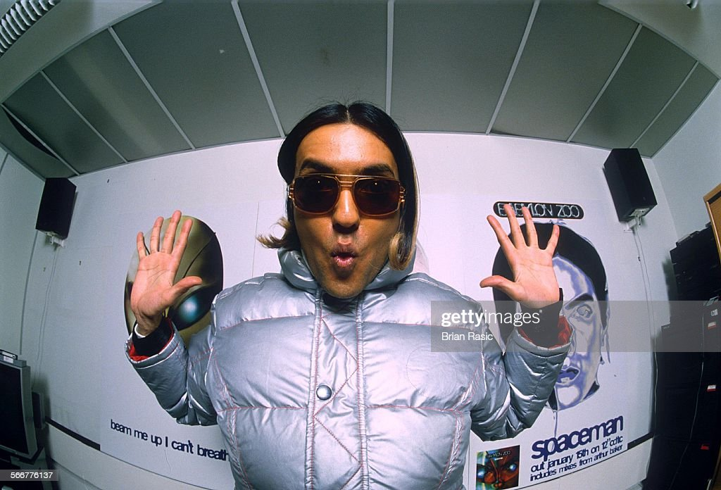 Jas Mann Of The Pop Group 'Babylon Zoo' - 1996 : News Photo